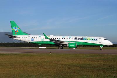 Azul Linhas Aereas Brasileiras Embraer ERJ 190-200 IGW (ERJ 195) PR-AYX (msn 19000471) (Azul e Verde) FLN (AirSpeed). Image: 908677.