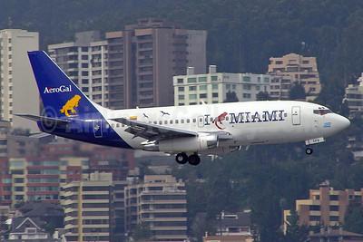 """AeroGal's """"I Love Miami"""" logo jet"""