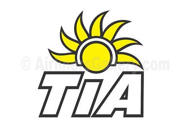 1. Trans Island Airways (TIA) (Bahamas) logo