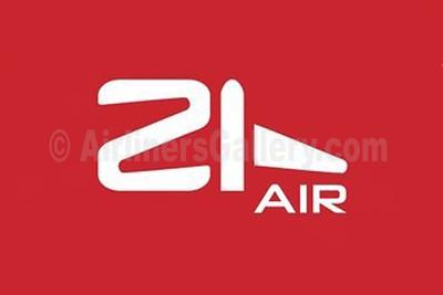 1. 21Air logo