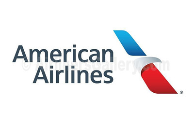 1. American Airlines logo