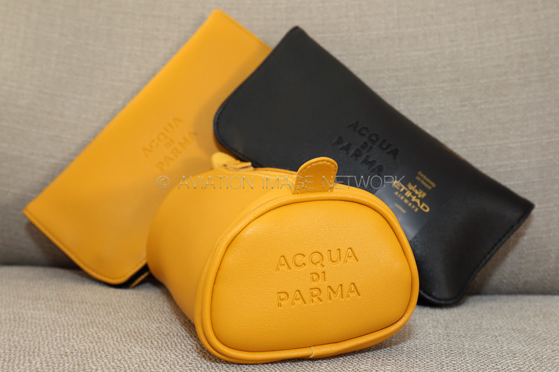 Etihad Airways First & Business Class Amenity Kits 2018 by Acqua Di Parma