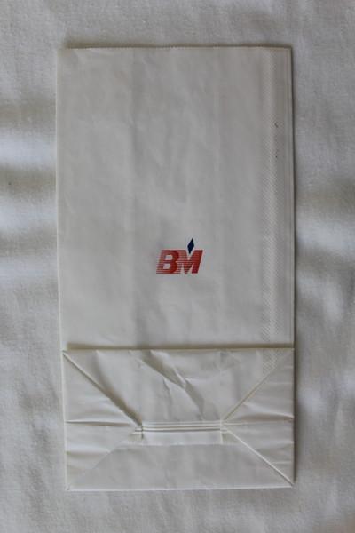 British Midland (BD) Sick Bag (Front)