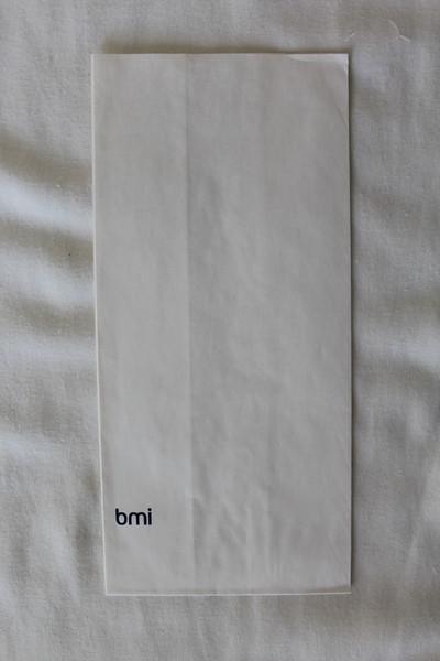 bmi (BD) Sick Bag (Front)