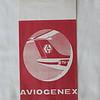 Aviogenex (JJ) Sick bag (Front)