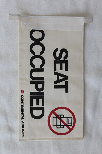 Continental Airlines (CO) Sick Bag (Front)
