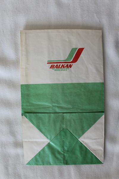 Balkan Bulgarian Airlines (LZ) Sick Bag (Rear)