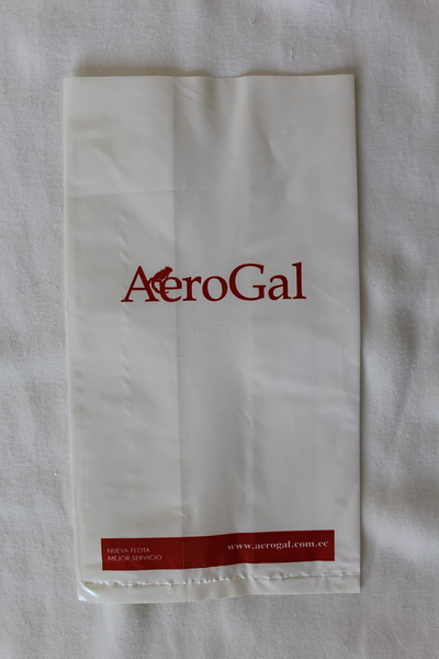AeroGal (2K) Sick Bag (Front)