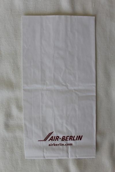 Air Berlin (AB) Sick Bag (Front)