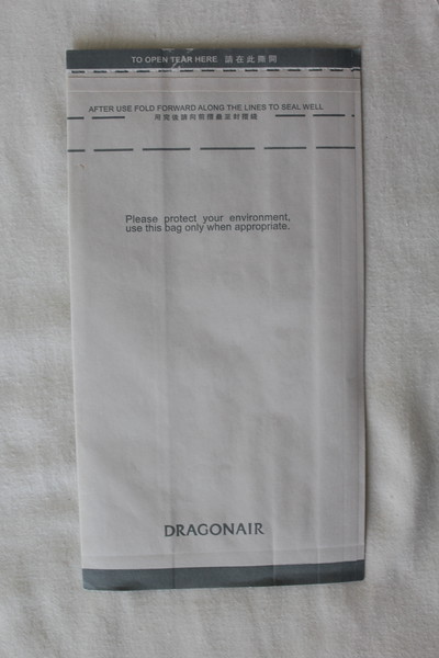 Dragonair (KA) Sick Bag (Rear)