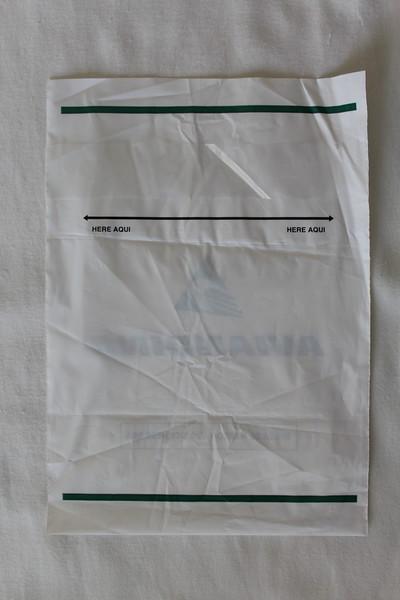 Aviandina (SJ) Sick Bag (Rear)