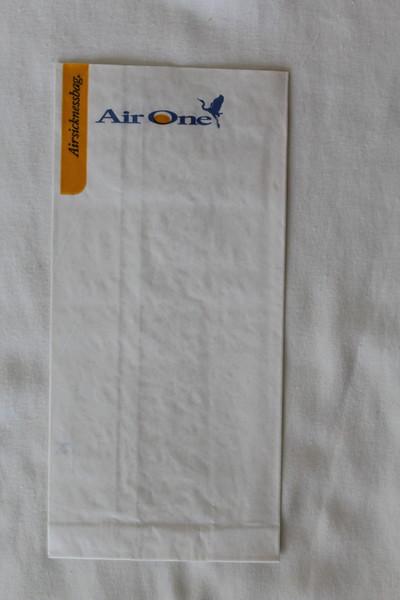 Air One (AP) Sick Bag (Front)