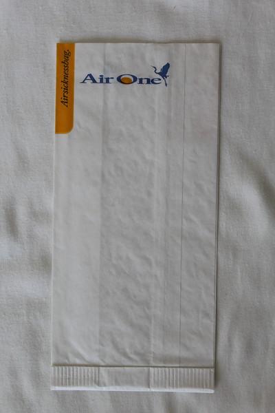 Air One (AP) Sick Bag (Rear)