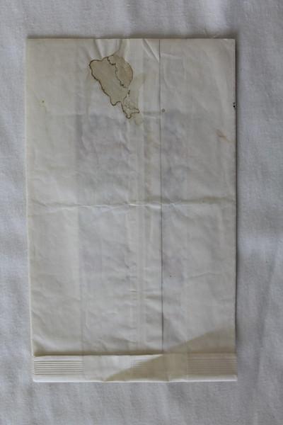 Dan-Air (DA) Sick Bag (Front)