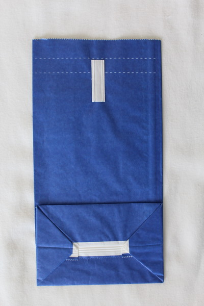 Continental Airlines (CO) Sick Bag (Rear)