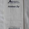 Jersey European Airways (JY) Sick Bag (Front)