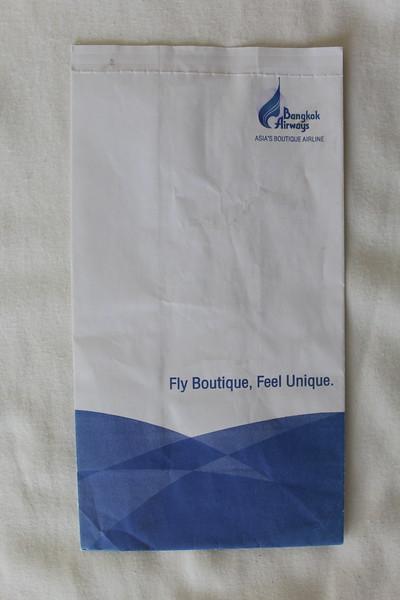Bangkok Airways (PG) Sick Bag (Front)