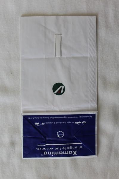 Alitalia (AZ) Sick Bag (Rear)