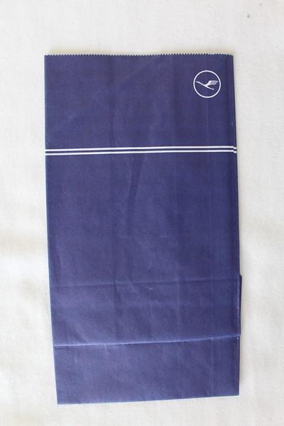 Lufthansa (LH) Sick Bag (Front)