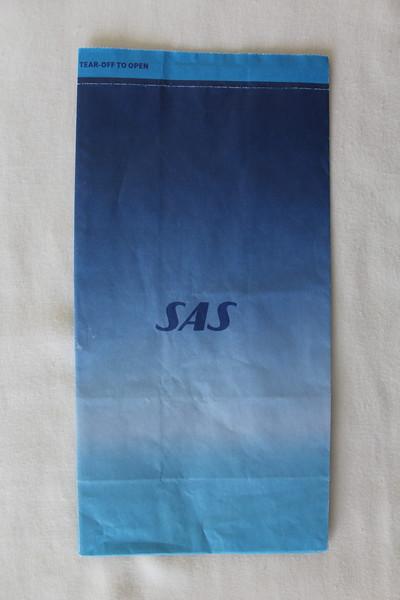 SAS Scandinavian Airline System (SK) Sick Bag (Front)