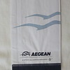 Aegean Airlines (A3) Sick Bag (Front)