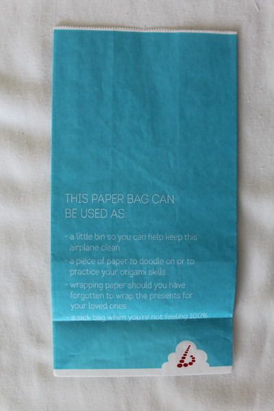 Brussels Airlines (SN) Sick Bag (Front)
