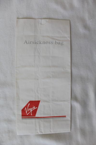 Virgin Atlantic Airways (VS) Sick Bag (Front)