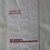 Air Europa (UX) Sick Bag (Rear)