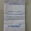 Air Tahiti Nui (TN) Sick Bag (Front)