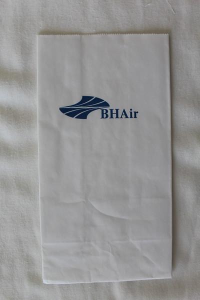 BH Air Balkan Holidays (8H) Sick Bag (Front)