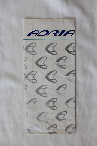 Adria Airways (JP) Sick Bag (Front)