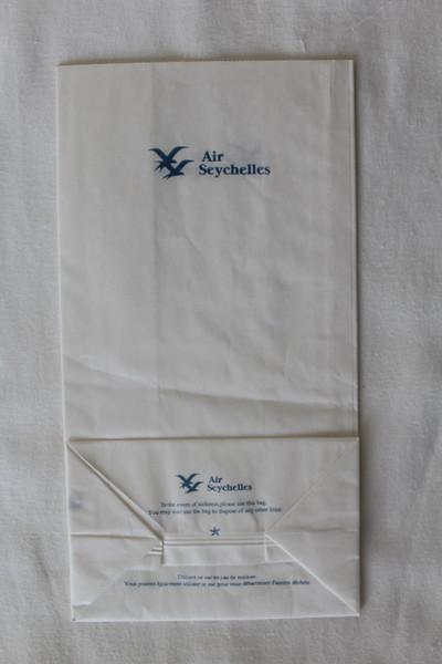 Air Seychelles (HM) Sick Bag (Rear)