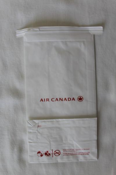 Air Canada (AC) Sick Bag (Rear)