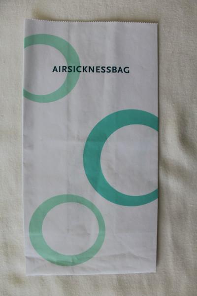 Oman Air (WY) Sick Bag (Front)