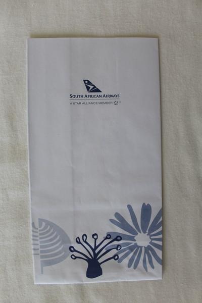 SAA South African Airways (SA) Sick Bag (Front)