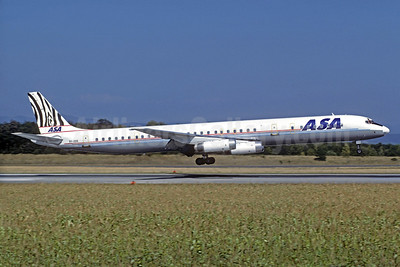 ASA (African Safari Airways) McDonnell Douglas DC-8-63 5Y-ZEB (msn 46122) BSL (Christian Volpati Collection). Image: 933768.