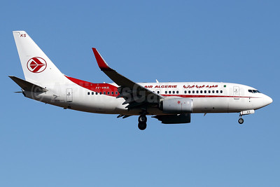 Air Algerie's first Boeing 737-700, delivered May 24, 2016