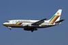 Air Zimbabwe Boeing 737-2N0 Z-WPB (msn 23678) JNB (Rainer Bexten). Image: 903241.