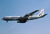 Air Zimbabwe Boeing 707-330B Z-WKS (msn 18923) (Air Rhodesia colors) LGW (Richard Vandervord). Image: 906301.