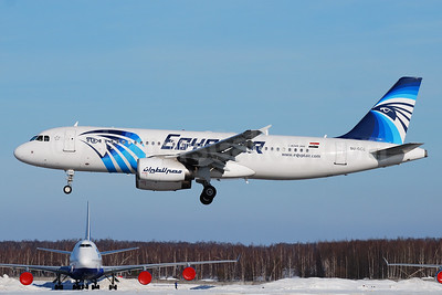 EgyptAir Airbus A320-232 SU-GCC (msn 2088) DME (OSDU). Image: 932995.