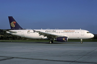 SU-GCC in the original 1996 delivery livery, delivered new on November 3, 2003
