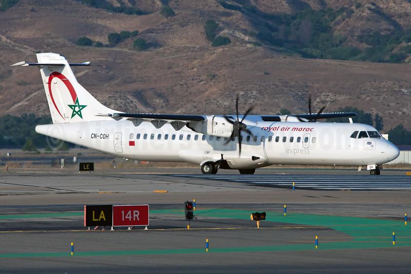 Royal Air Maroc Express ATR 72-212A (ATR 72-600) CN-COH (msn 960) (Ole Simon). Image: 927519.