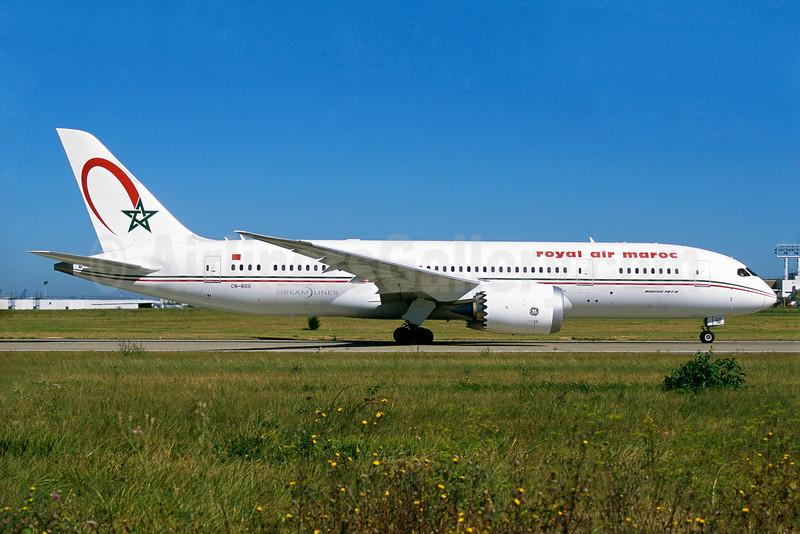 Royal Air Maroc Boeing 787-8 Dreamliner CN-RGS (msn 35506) ORY (Jacques Guillem). Image: 934598.