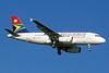 South African Airways Airbus A319-131 ZS-SFM (msn 2469) JNB (Christian Volpati). Image: 933801.