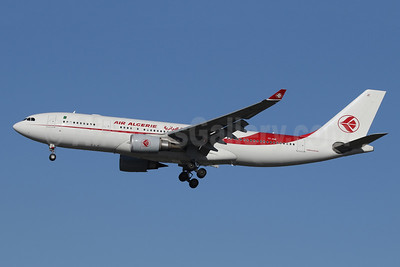Air Algerie Airbus A330-202 7T-VJC (msn 1649) LHR (SPA). Image: