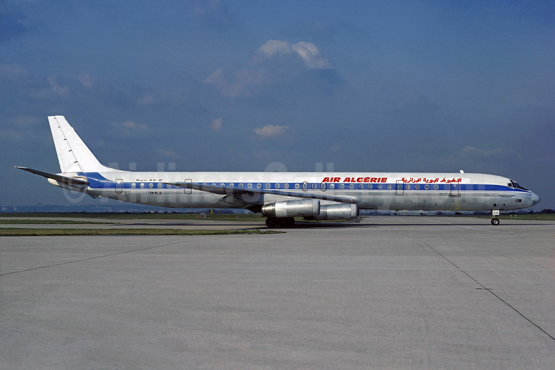Air Algerie (Loftleidir Icelandic) McDonnell Douglas DC-8-63CF TF-FLB (msn 45936) (Icelandair colors) ORY (Jacques Guillem). Image: 934059.