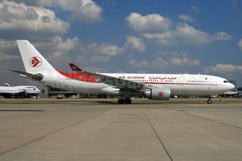 Air Algerie Airbus A330-202 7T-VJC (msn 1649) LHR. Image: 933987.