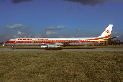 Leased from World Airways in November 1975