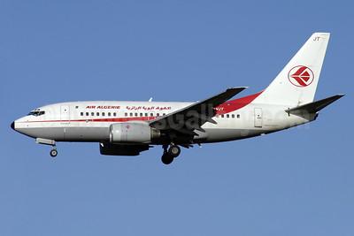 Air Algerie Boeing 737-6D6 7T-VJT (msn 30546) LHR (Antony J. Best). Image: 910326.