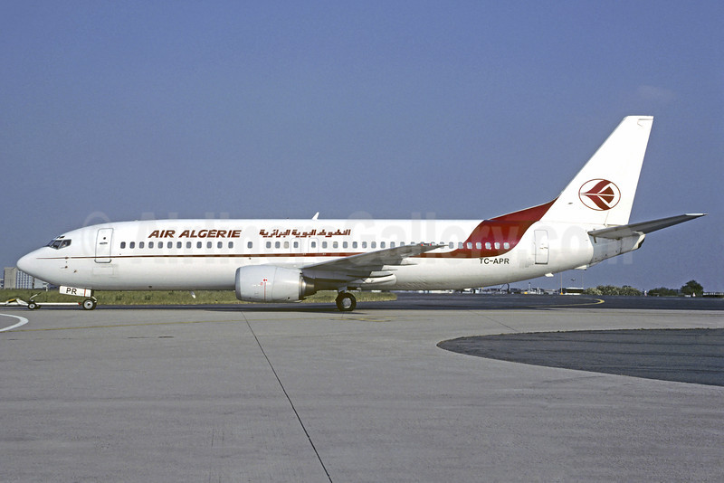 Air Algerie-Pegasus Airlines Boeing 737-4Y0 TC-APR (msn 24685) CDG (Christian Volpati). Image: 910335.